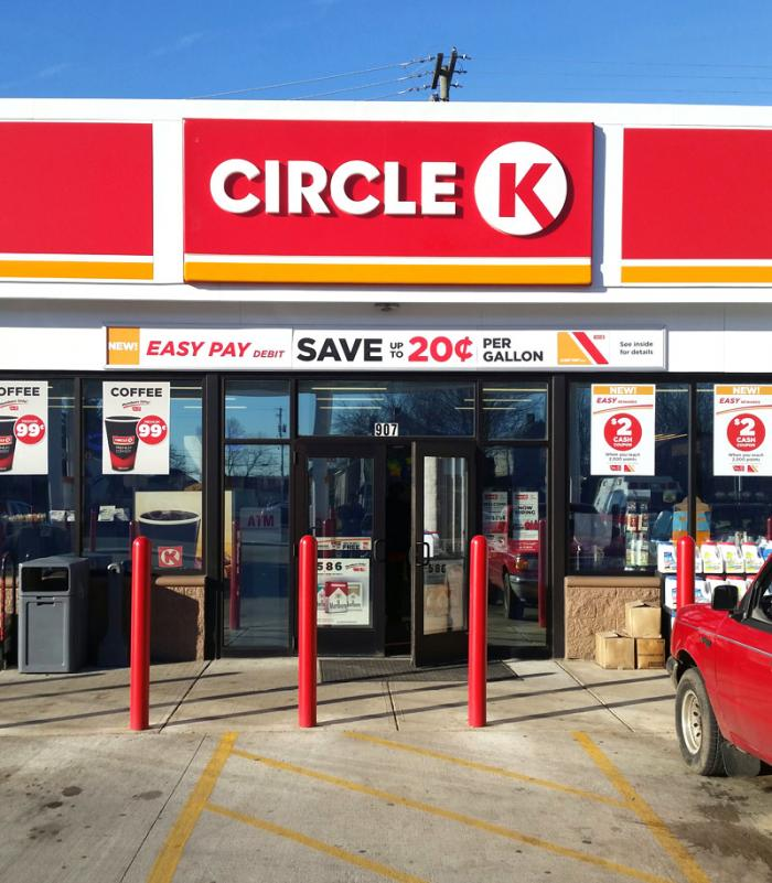 Circle K 'Easy Pay' Storefront Banner