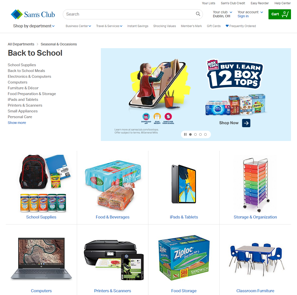 Sam's Club Leads the Channel Back to School | P2PI