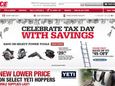 Ace Hardware Craftsman 'Tax Day' Carousel Ad