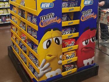 M&M's Launch Gets Mass Support