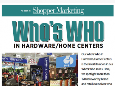 Who's Who in Hardware/Home Centers